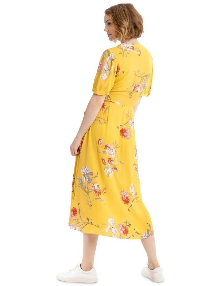 Iris Floral Tea Dress image 3