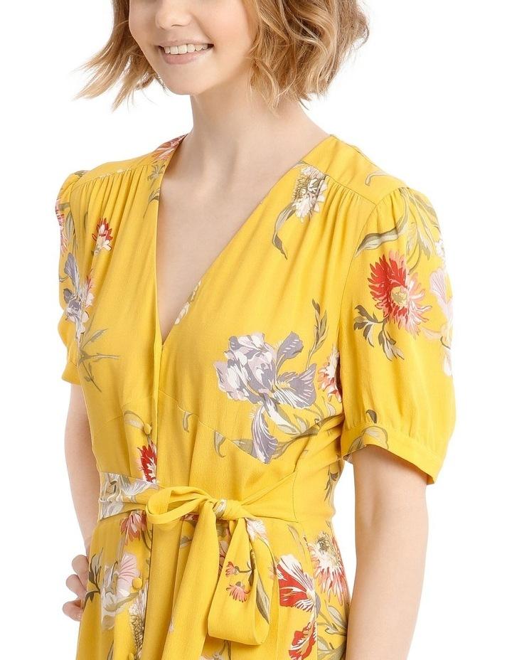 Iris Floral Tea Dress image 4