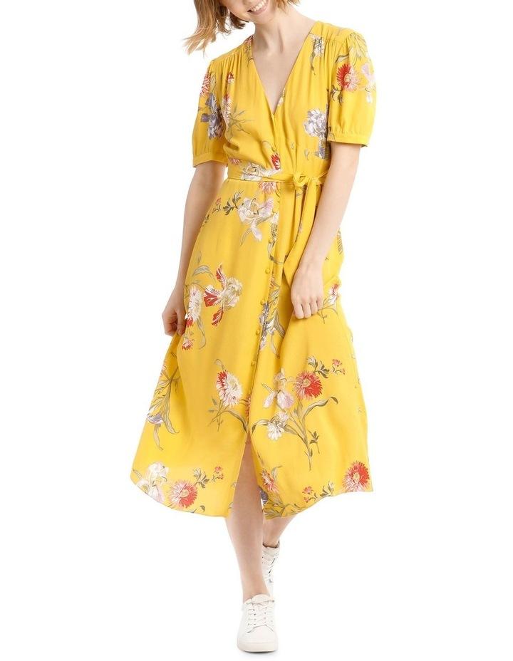 Iris Floral Tea Dress image 5