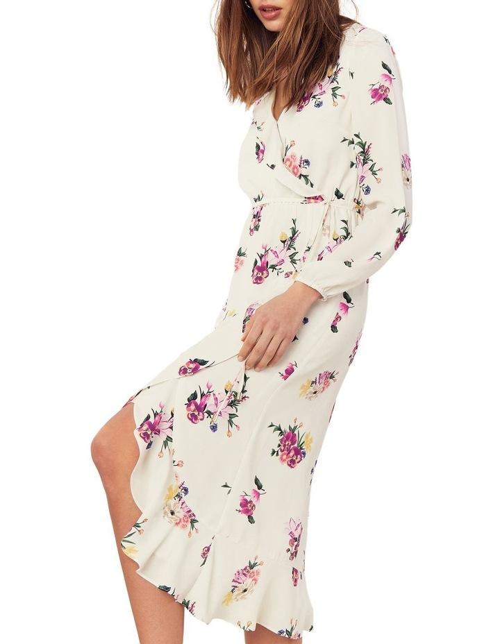 Garden Chiffon Sleeved Midi Dress image 2