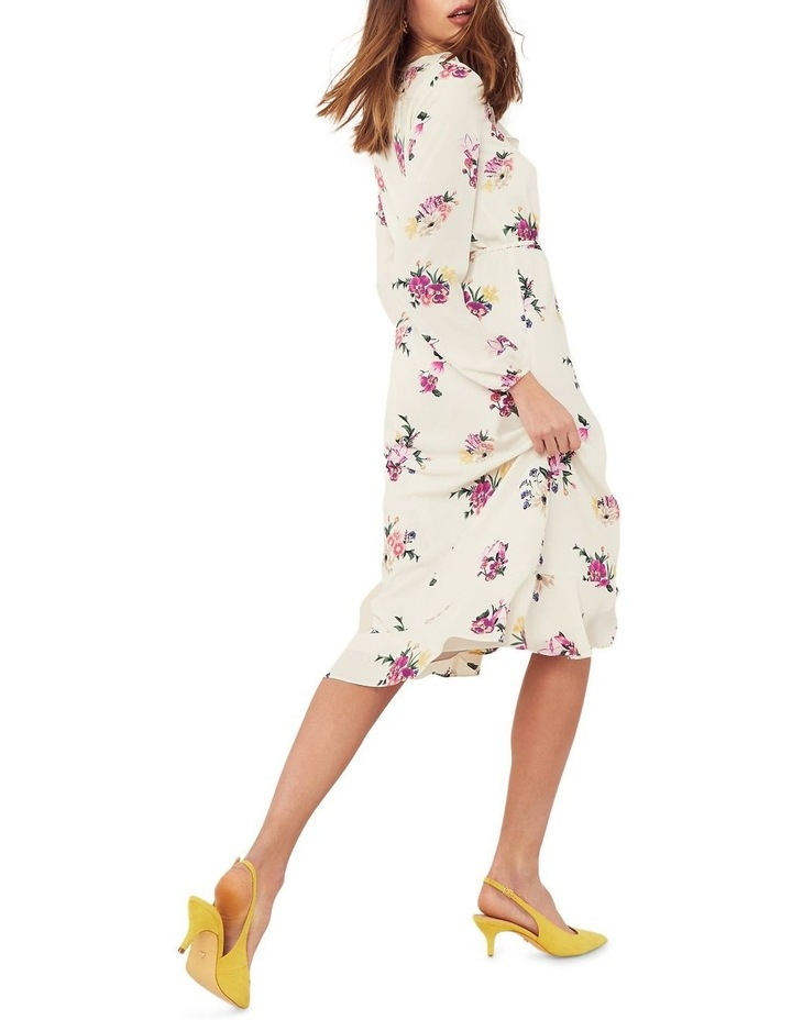 Garden Chiffon Sleeved Midi Dress image 3