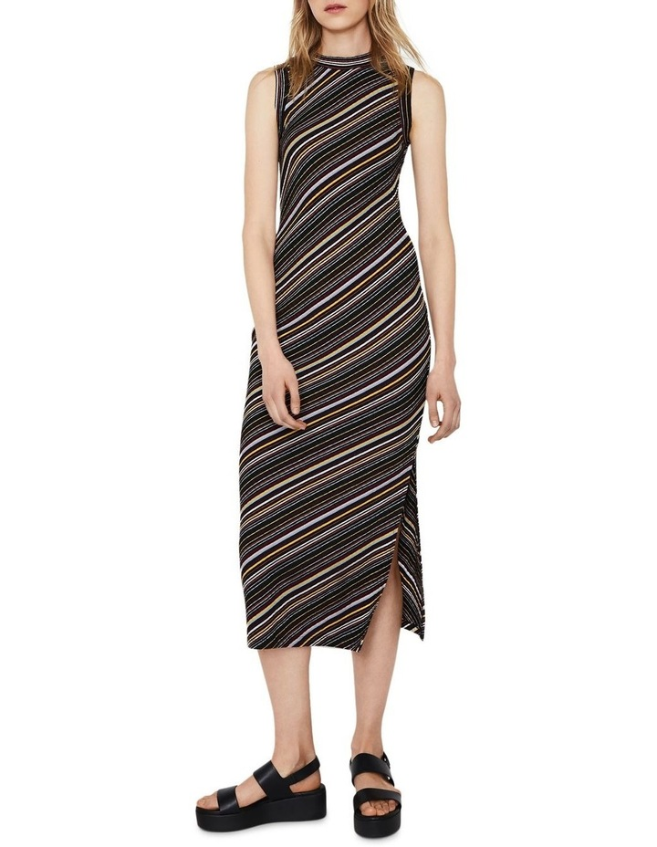 Stripe Rib Dress image 1