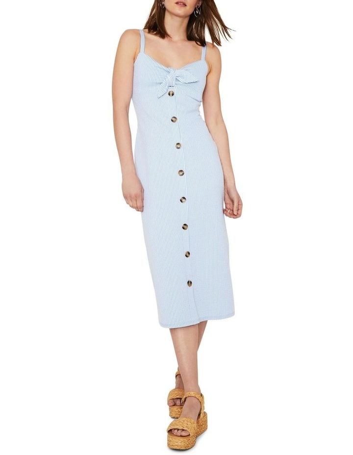 Seersucker Knot Front Dress image 1