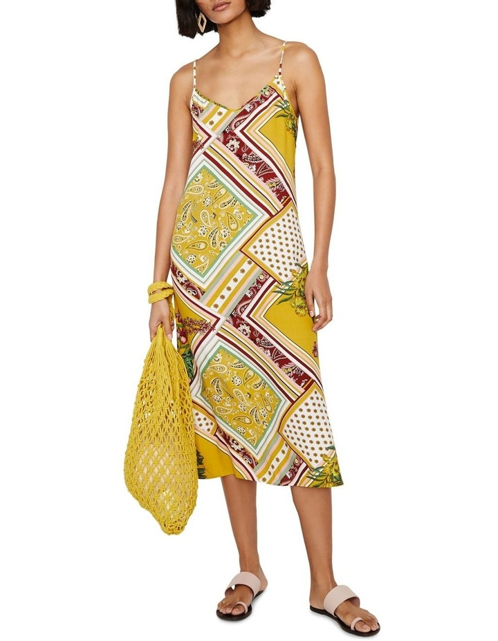 Scarf Print Cami Dress image 1