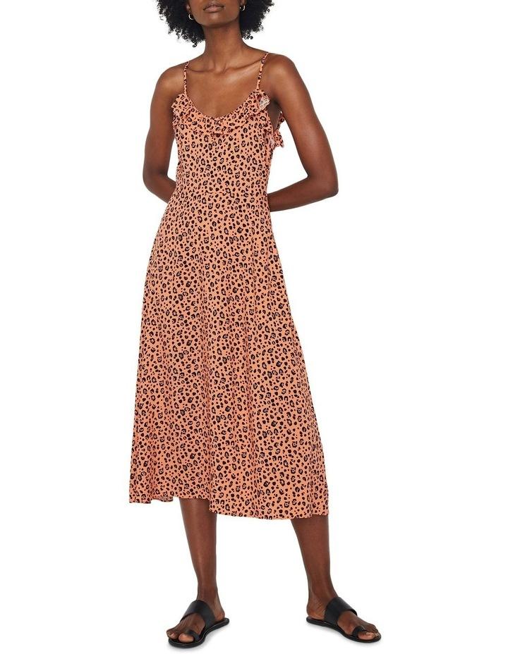 Little Leopard Frill Cami Dress image 1