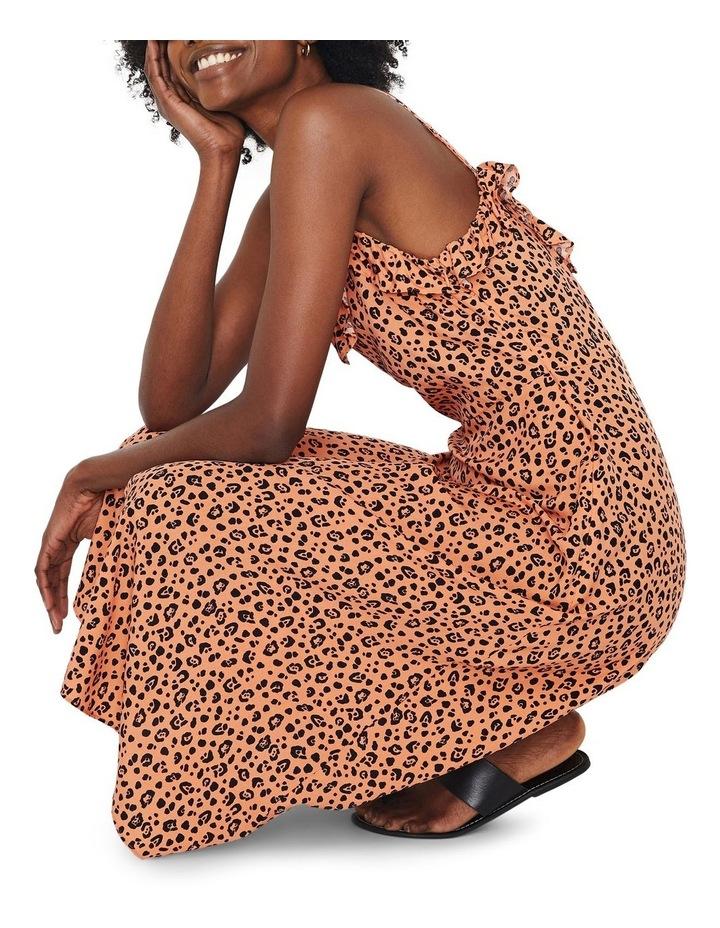 Little Leopard Frill Cami Dress image 5