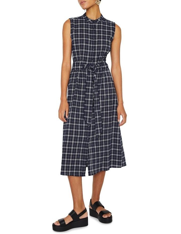 Checked Cami Shirt Dress image 1