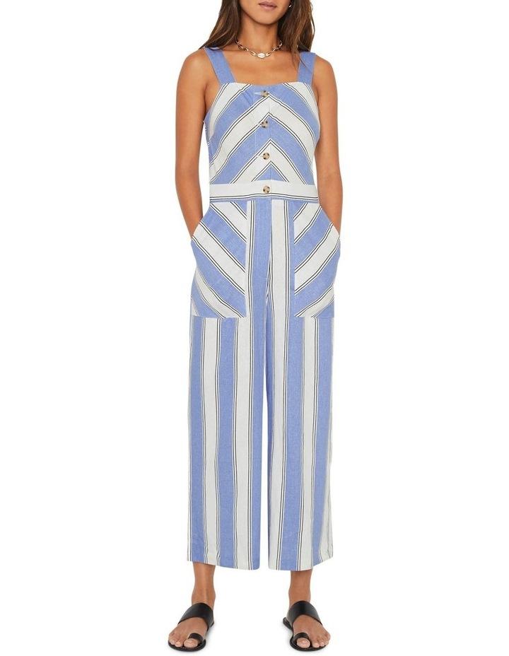 Stripe Pinny Jumpsuit image 1