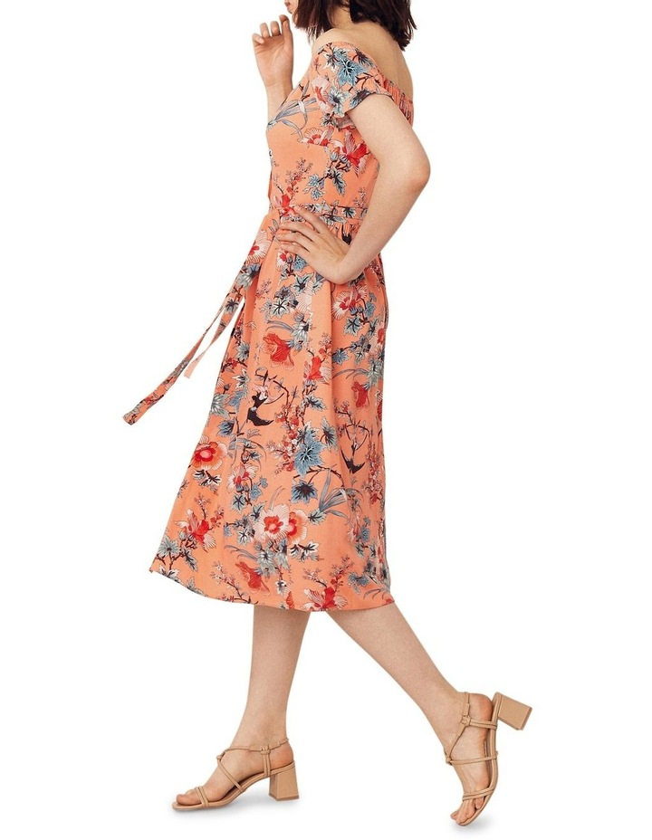 Mellow Meadow Viscose Bardot Midi image 2