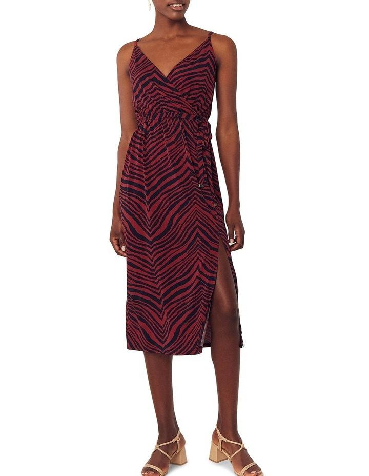 Tiger Cami Wrap Dress image 1