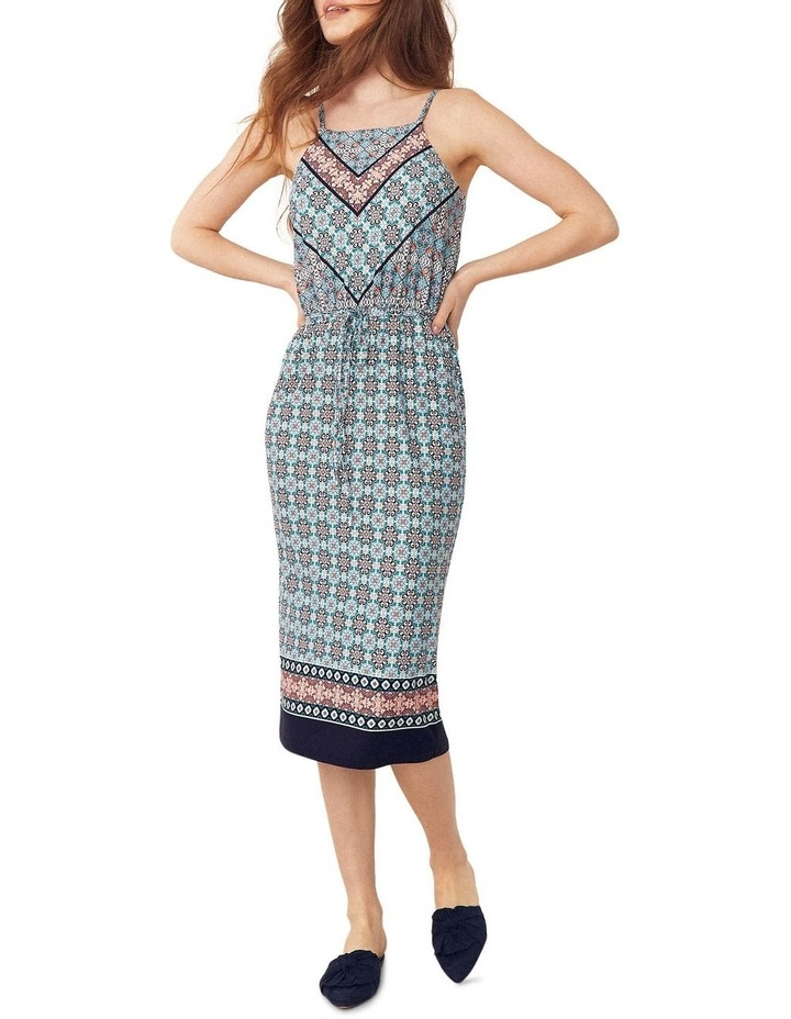 Scarf Square Neck Slip Dress image 1