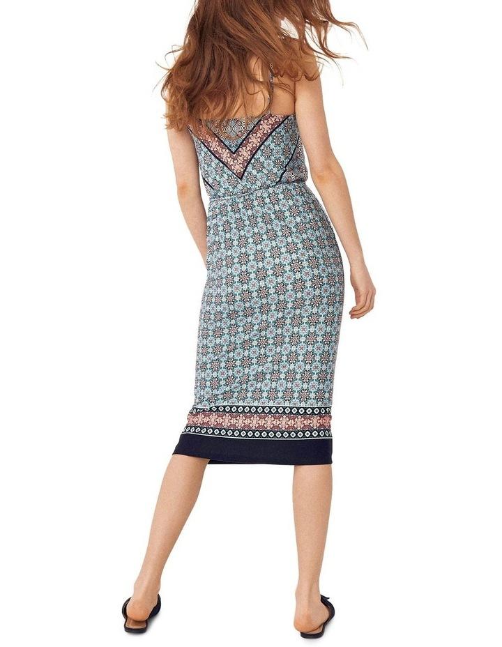 Scarf Square Neck Slip Dress image 2