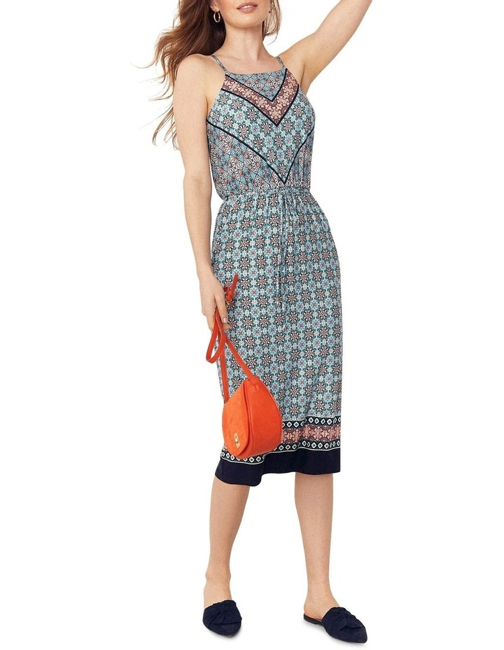 Scarf Square Neck Slip Dress image 4