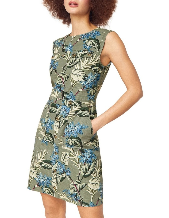 Jasmine Floral Textured Shift Dress image 1