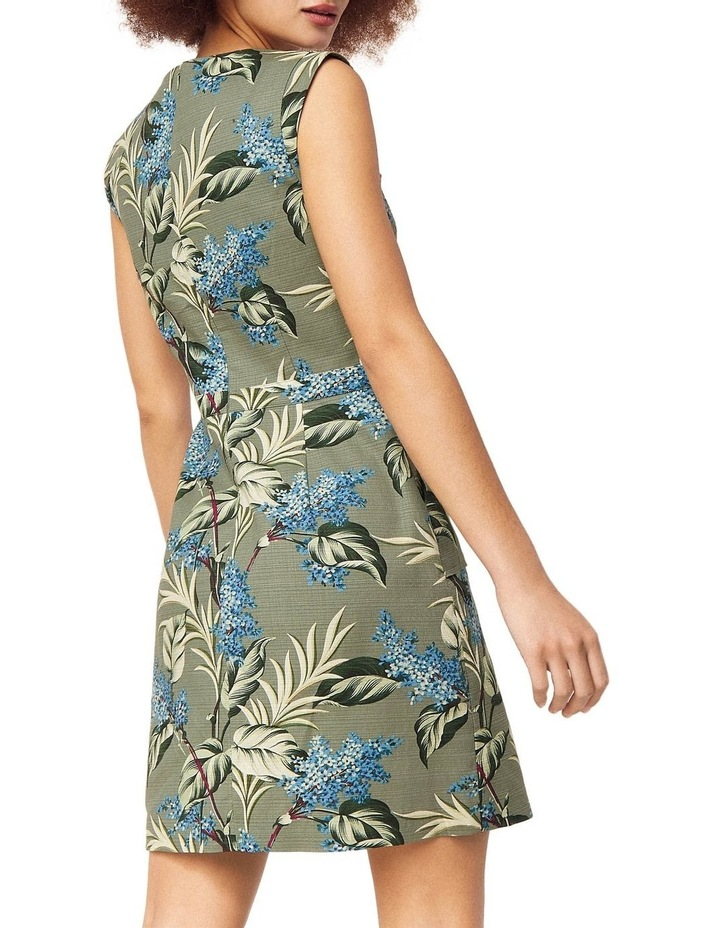 Jasmine Floral Textured Shift Dress image 2