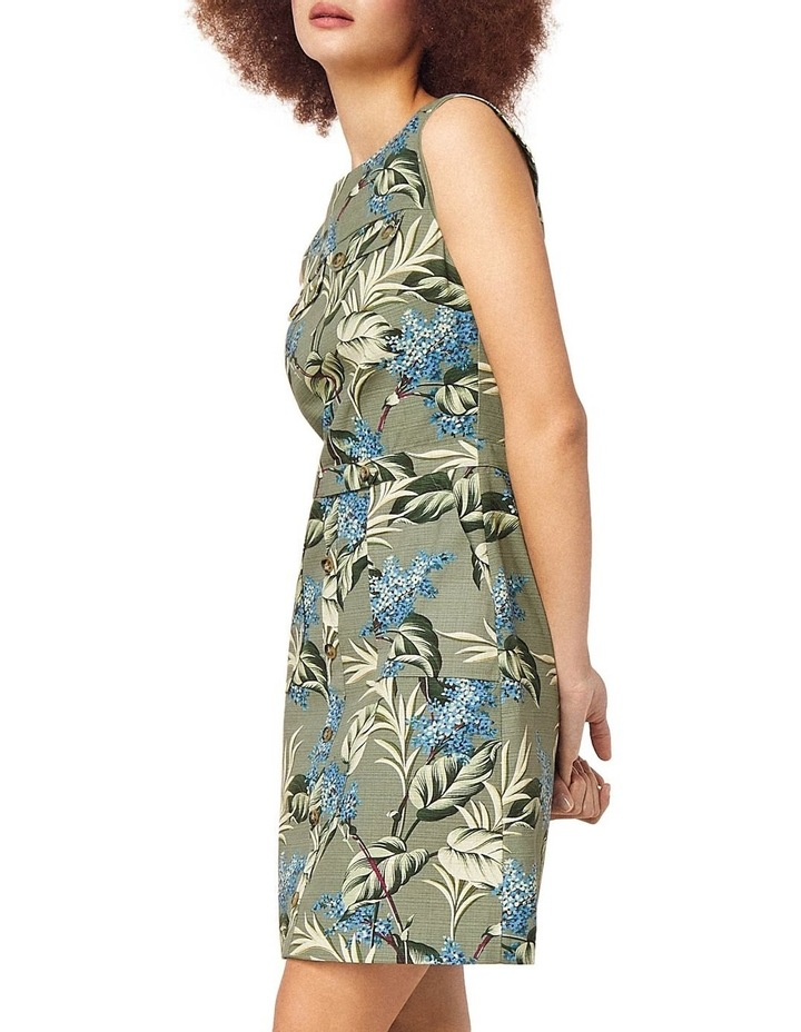 Jasmine Floral Textured Shift Dress image 4