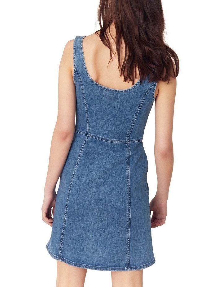 Button Through Mini Dress image 2