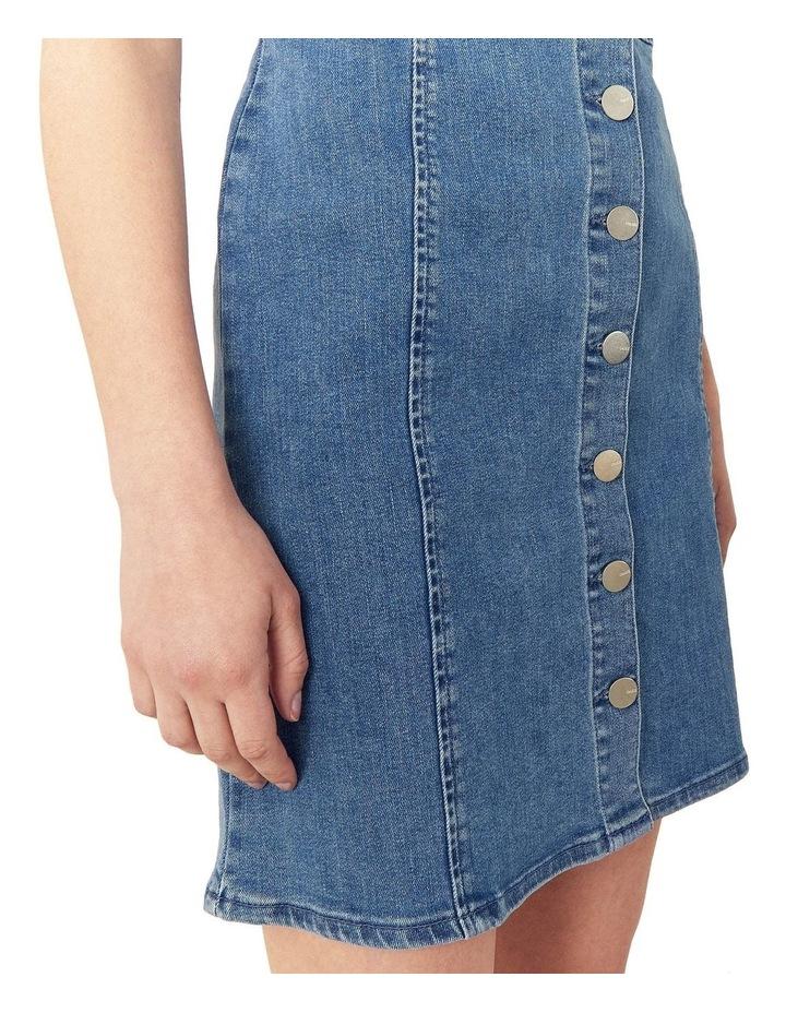 Button Through Mini Dress image 3