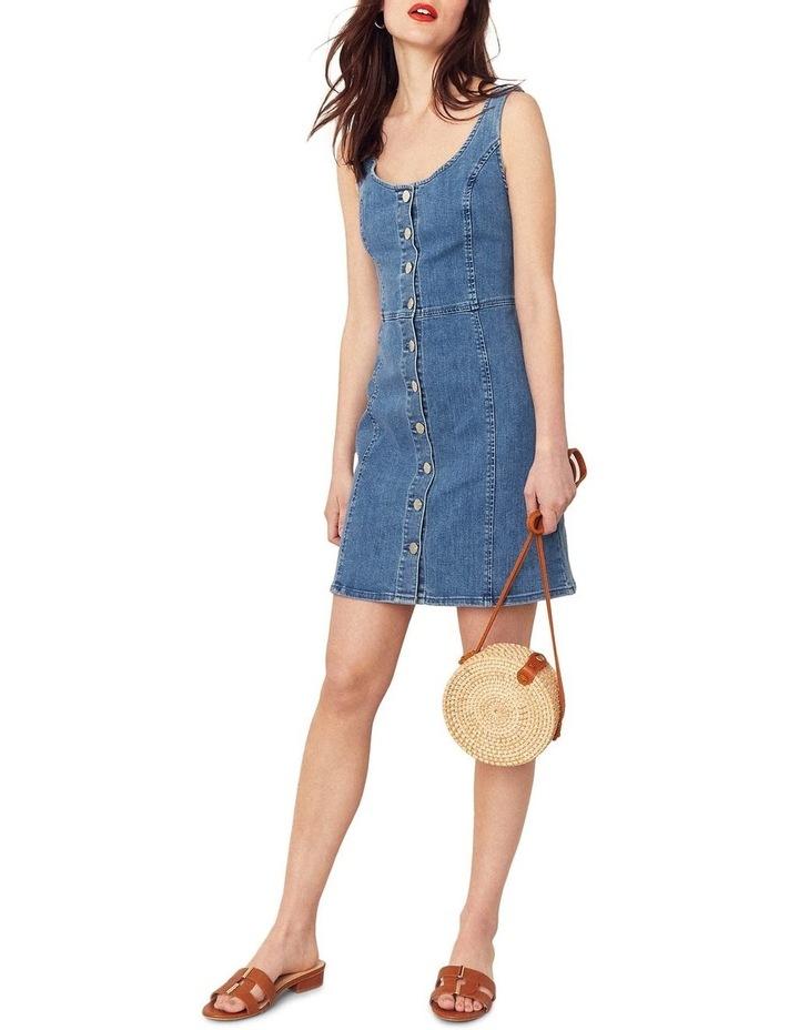 Button Through Mini Dress image 4