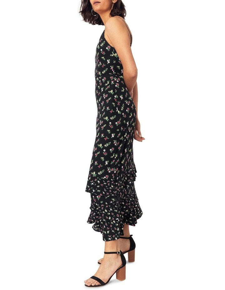 Ditsy Tiered Cami Midi Dress image 2