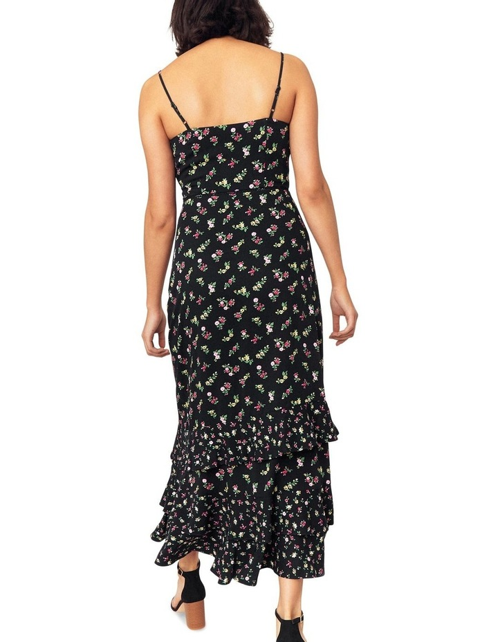 Ditsy Tiered Cami Midi Dress image 4