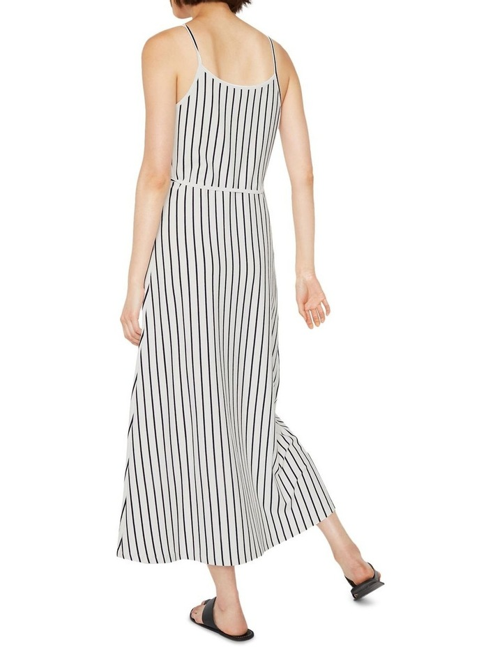 Stripe Cami Wrap Maxi Dress image 2