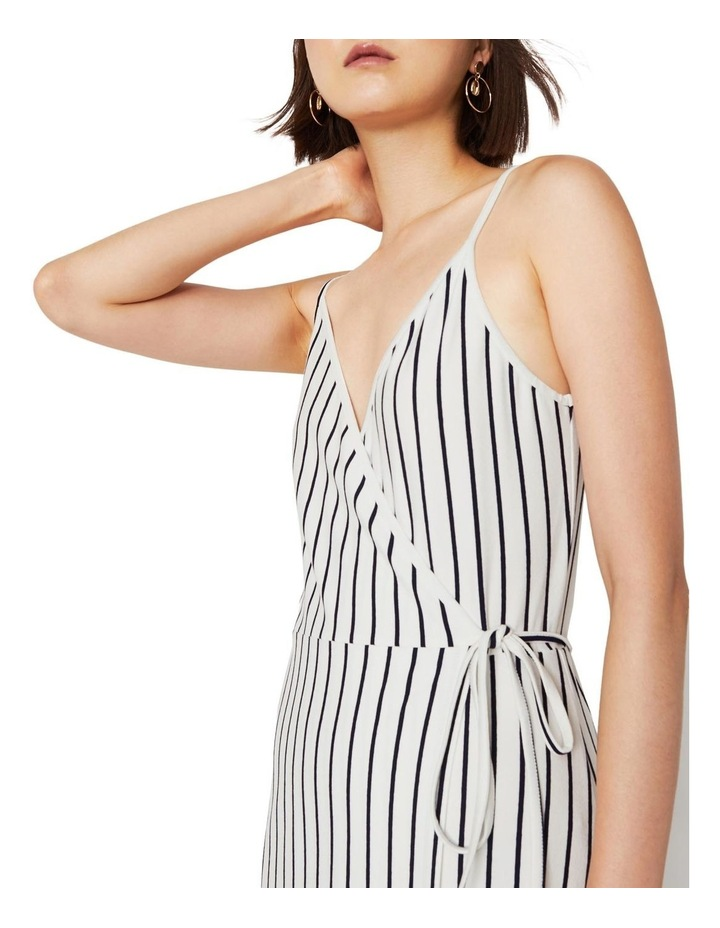 Stripe Cami Wrap Maxi Dress image 3
