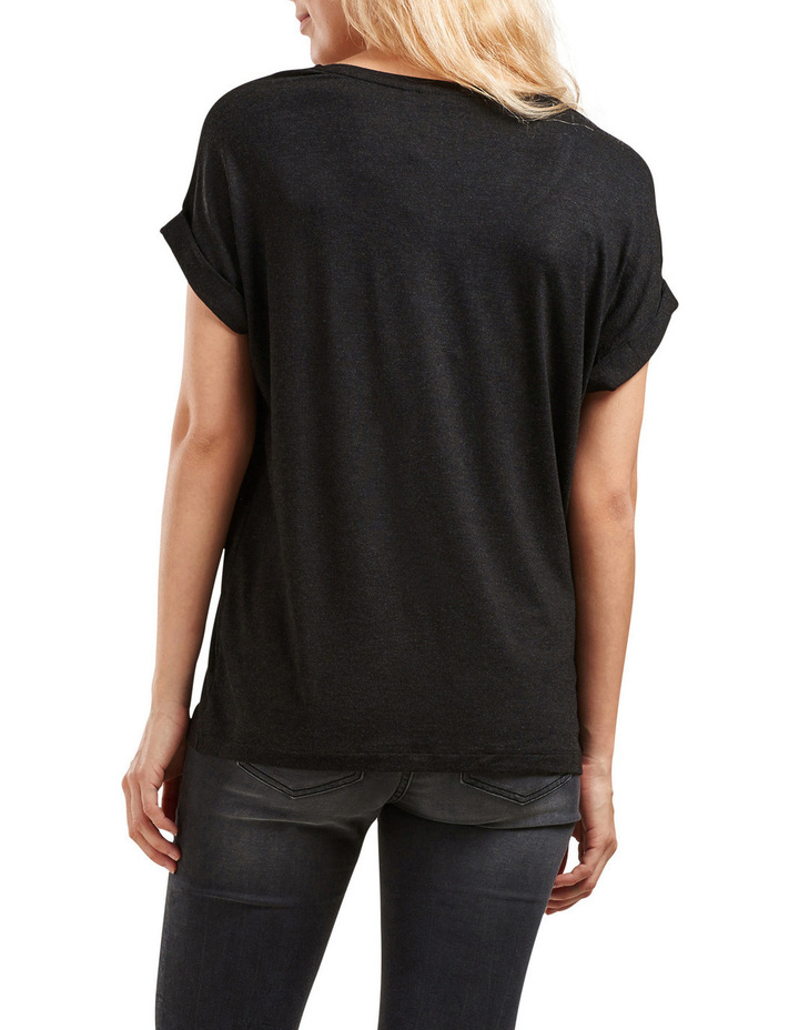 Moster Short Sleeved O-Neck Top image 2