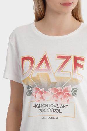 ONLY - New Maddie Short Sleeve Daze Crane Top