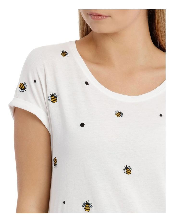 Bee Print Top image 4