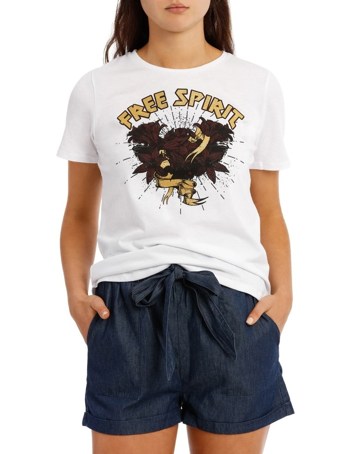 Tali Short Sleeve Top Box Juniors image 1