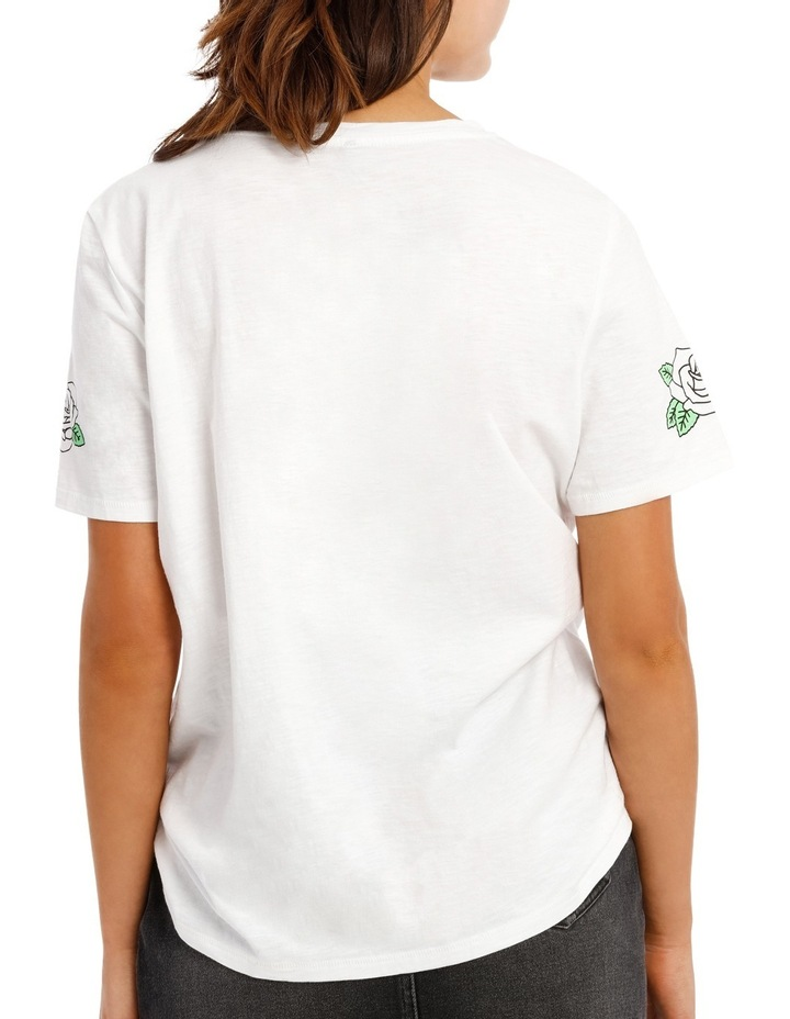 Nelly Short Sleeve Nope Rules Top Box Juniors image 3