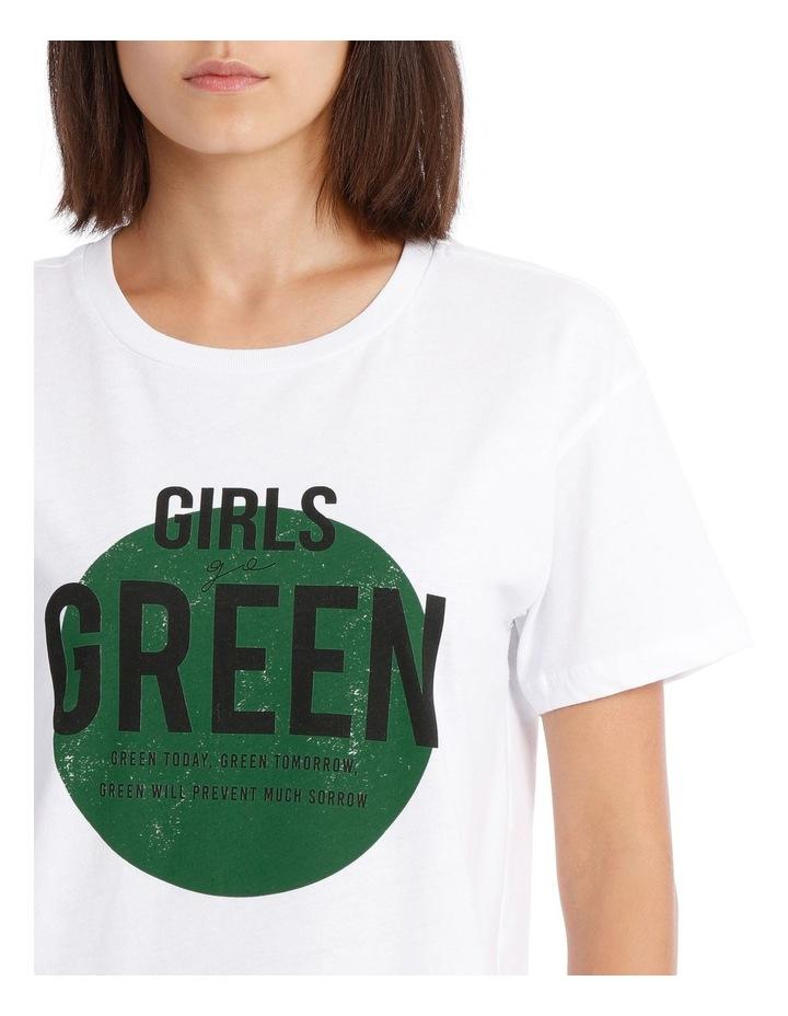 Heart Organic Cotton T-Shirt image 4