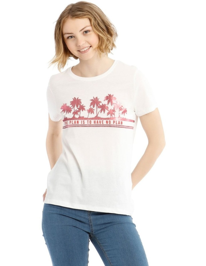 Short Sleeve Tee With Print image 1