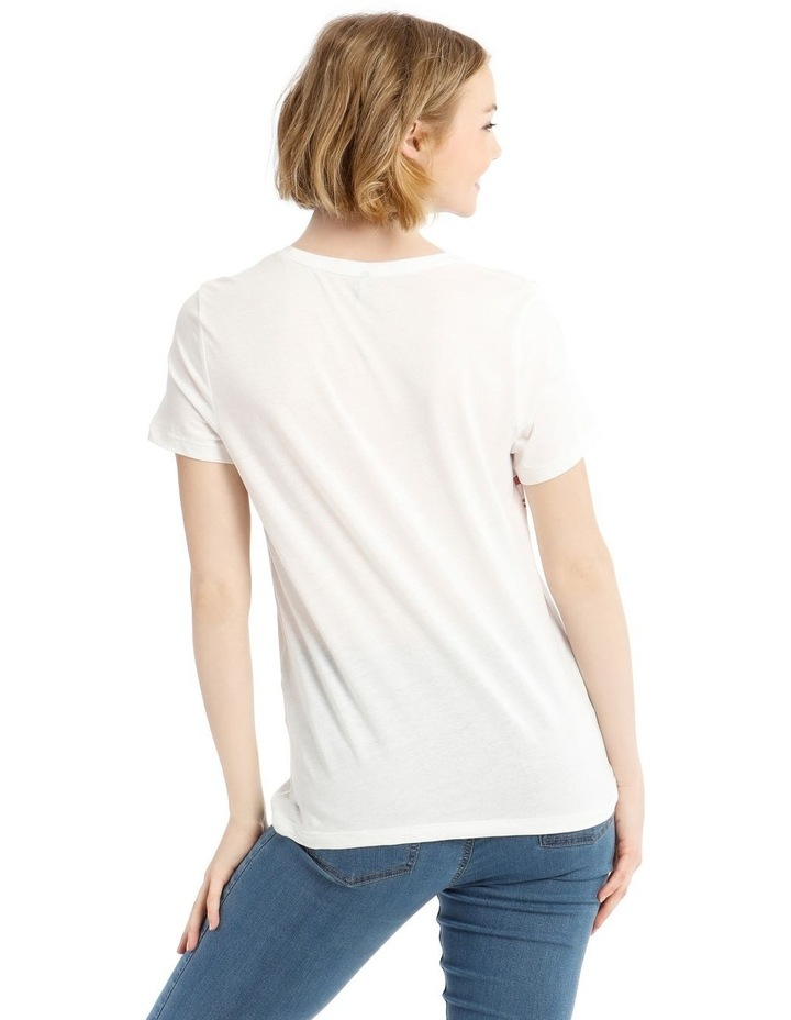 Short Sleeve Tee With Print image 3