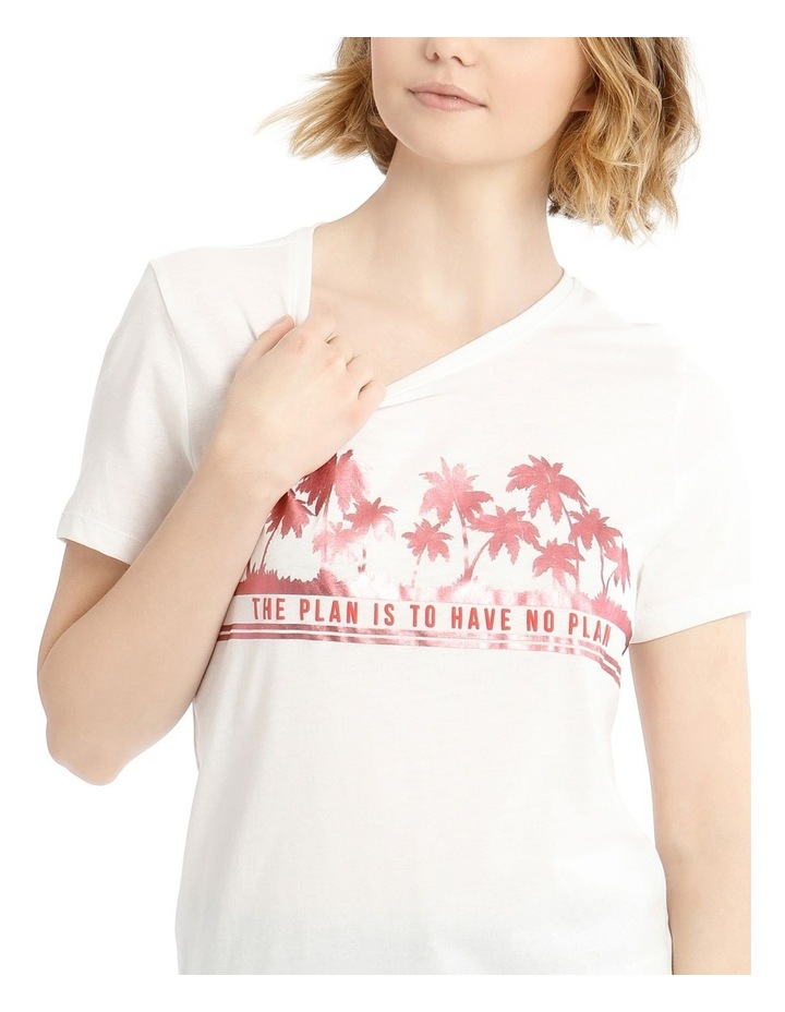 Short Sleeve Tee With Print image 4