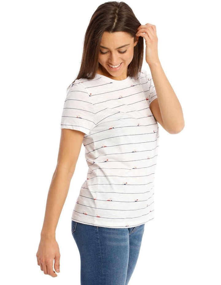 Bone Short-Sleeved T-Shirt image 2