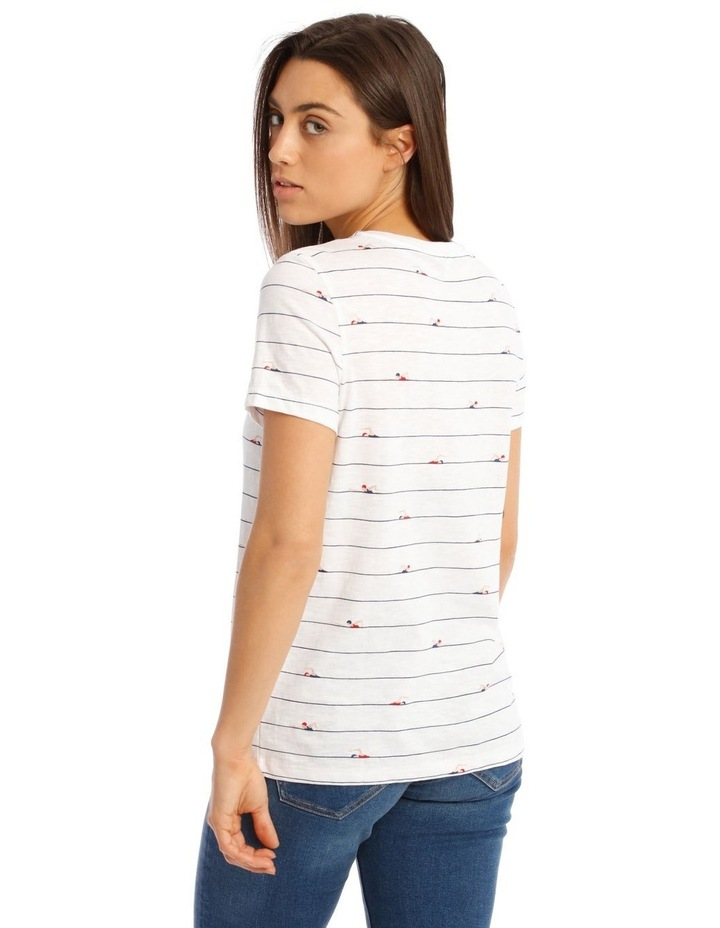 Bone Short-Sleeved T-Shirt image 3