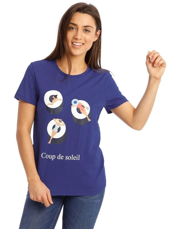 Bone Short-Sleeved T-Shirt image 1