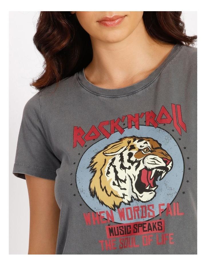 Rokka Short Sleeve Rock T-Shirt image 4