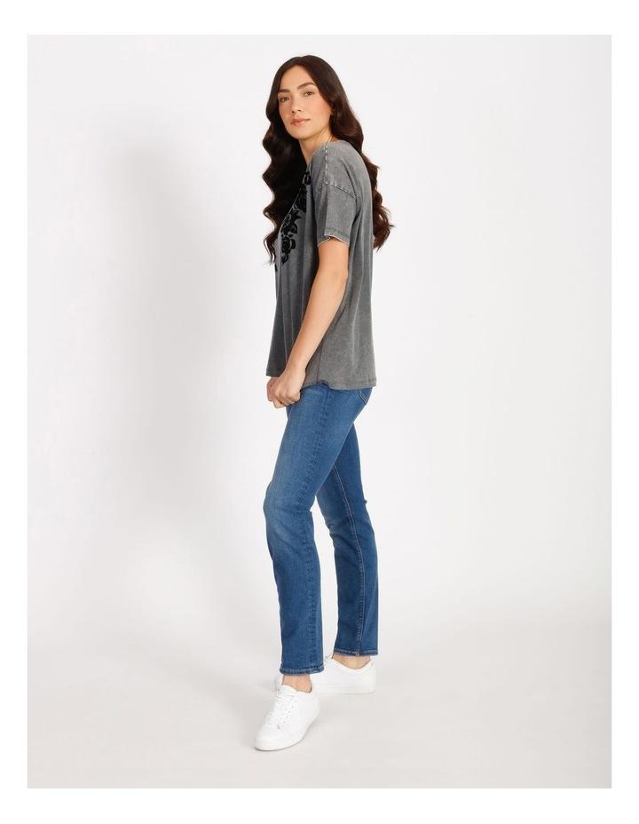 Rosie Oversize Short Sleeve Top image 2