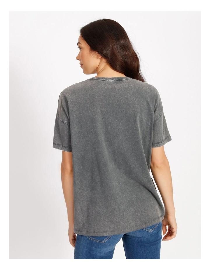 Rosie Oversize Short Sleeve Top image 3