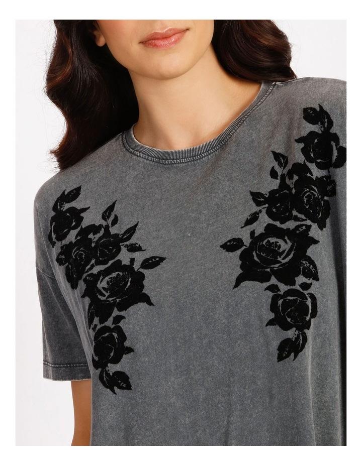 Rosie Oversize Short Sleeve Top image 4