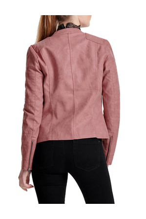 ONLY - Ava Faux Leather Biker Jacket