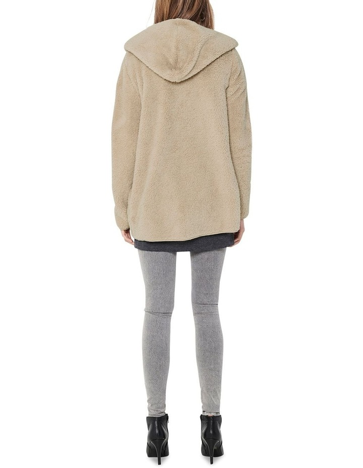Contact Hooded Sherpa Coat image 2