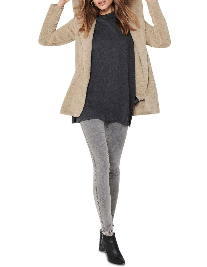 Contact Hooded Sherpa Coat image 3