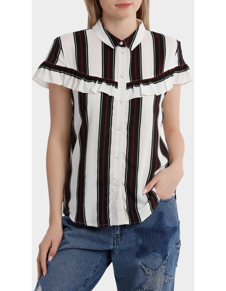 Therese Long Sleeve Frill Shirt image 1