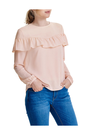 ONLY - Sui Long Sleeve Ruffle Top