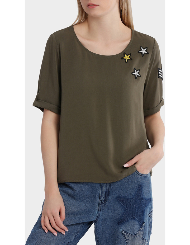 Avery Brier Short Sleeve Top image 1