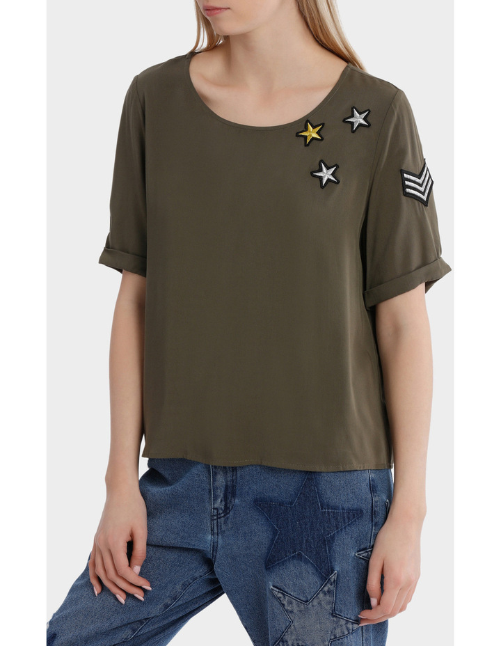 Avery Brier Short Sleeve Top image 2